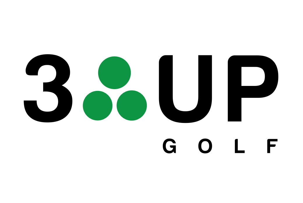 3 Up Golf logo