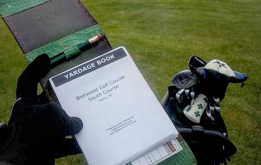 Bretwood Golf Club Yardage Book